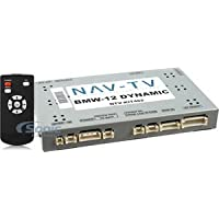 NAV-TV BMW-12 DYNAMIC KIT (NTV-KIT462) Rear View Camera and Video Interface for Select 2012-2014 BMW, Mini Cooper and Rolls Royce Vehicles