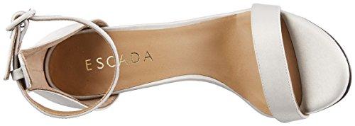Escada Sport Donna As1099 Sandali Con Cinturino Argento (diamante)
