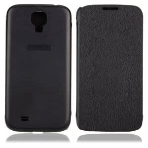 Flap Lichee Leather Case for Samsung Galaxy SIV S4 i9500 Black