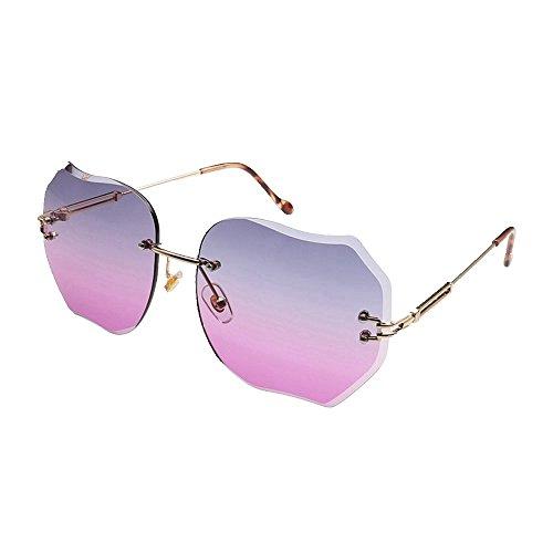 sol sombrillas gafas Gafas de gafas sol sin sol Shop marco sol Gafas metálicas de de de color de de sol gafas 6 Ocho wYqEUC4