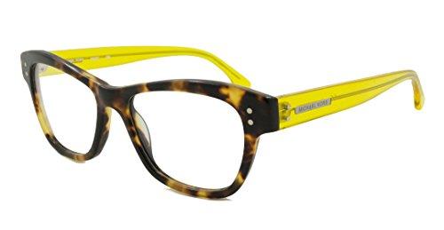 Michael Kors Rx Eyeglasses - MK887 Tortoise Yellow / Frame only with demo - Kors Eyeglasses Michael Womens