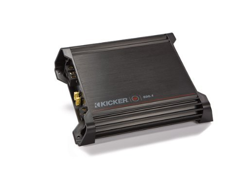 Kicker DX500.1 Mono Subwoofer Amplifier, 500 Watts RMS x 1 at 2 - Rms 1 Stock