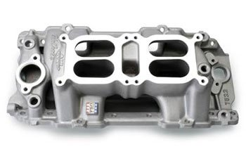 - Edelbrock 7522 RPM Air-Gap Dual-Quad Intake Manifold