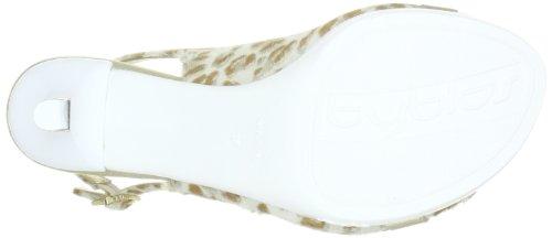 Byblos GILDA CXA7748 - Sandalias de vestir de cuero para mujer Beige