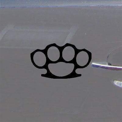 Die Cut Decor Black Street Fighter Car Window Bike Vinyl Home Decor Sticker Decal Art Laptop Brass Knuckles Auto