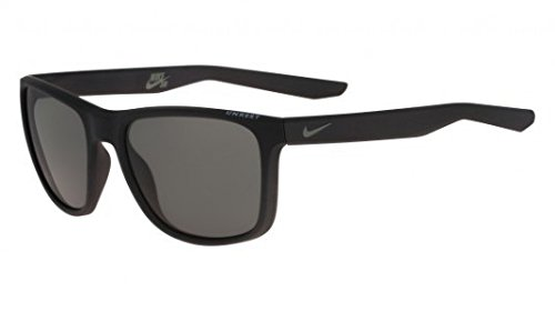 Nike Golf Unrest Sunglasses, Matte Black/Tumbled Grey Frame, Green - Sunglasses Unrest