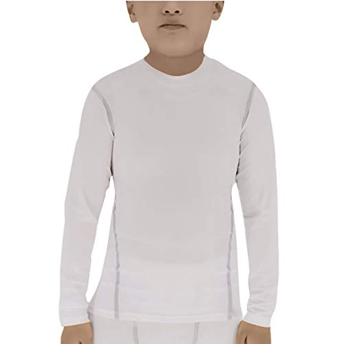 Lanbaosi Boys&Girls Long Sleeve Compression Soccer Practice T-Shirt ()
