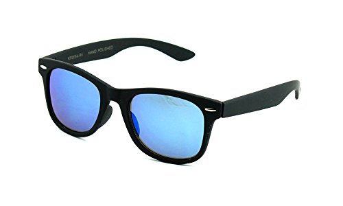 Newbee Fashion - Kids 80's Classic Vintage Retro Style Mirrored Lens Camo Design Fashion Sunglasses - Camo Ray Bans