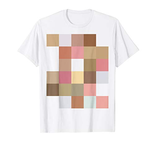 Halloween Costume Tees: Naked Mosaic Censorship 'Nude' Shirt -