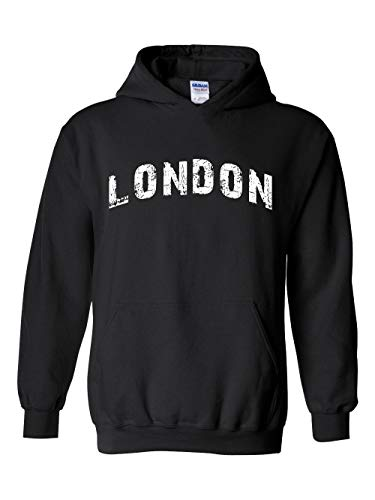 Mom`s Favorite London City UK Europe Traveler Gift Unisex Hoodie (LB) -
