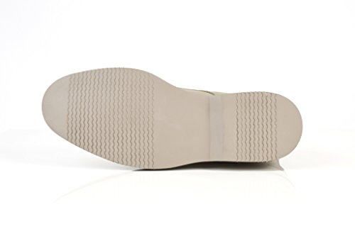 solebay hemley pour homme en cuir Smart Casual Bottines en daim Taupe UK 7–12