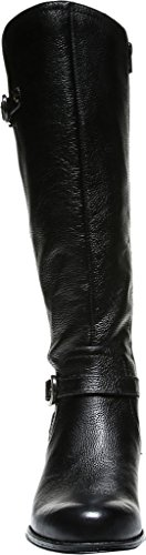 Black Jennings Women's Wide Tall Leather Boot Calf Naturalizer fYpnqWY
