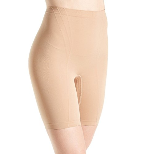 Body Wrap Retro Lites Long Leg Panty (6101542) M/Beige (Body Wrap Lites)