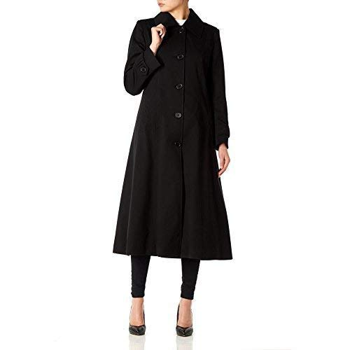 100% quality how to buy structural disablities De La Creme Womens Single Breasted Long Mac Coat: Amazon.co ...