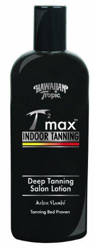 Hawaiian Tropic Tan Max salons de bronzage profond Lotion Tanning Salon, 8-Ounce Bottles (Pack de 2)