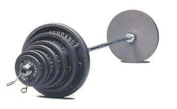 400LB Standard Olympic Weight Set