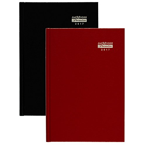 "DayMinder Monthly Planner / Appointment Book 2017, Premiere, 7-7/8 x 11-7/8"", Color Selected For You May Vary (G470H-10)"
