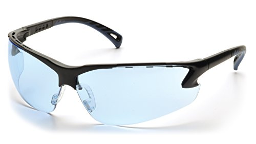 Pyramex Venture 3 Safety Glasses, Infinity Blue Lens