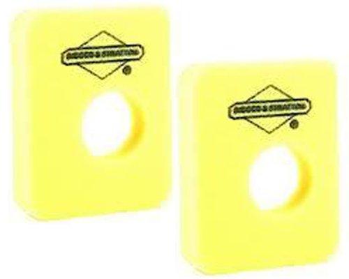 - Briggs & Stratton 2 Pack 799579 Air Cleaner Foam Filter
