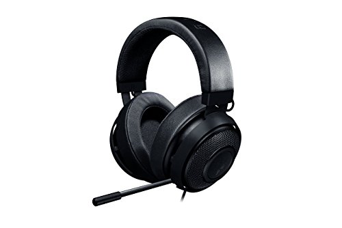 - Razer Kraken Pro V2 - Oval Ear Cushions - Analog Gaming Headset for PC, Xbox One and Playstation 4, Black (Renewed)