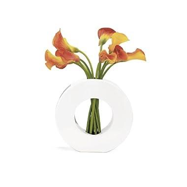 Torre & Tagus 1203-170010 Zero Vase, White