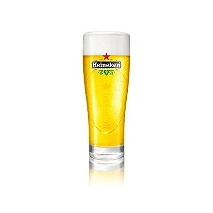 Heineken Ellipse cerveza vasos 0,3 litros, 6 unidades, nuevo
