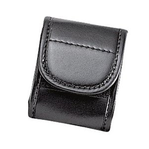 Uncle Mike's Mirage Basketweave Snap Close Duty Pager Case (Medium, Black) ()