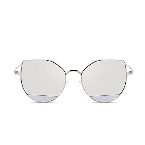 Lunettes Unisexe Femmes Chic Lunettes lunettes Acétate Des ❤️ de Cadre Hommes Plein de Solike Voyage en Plage Soleil C de Mode Lunettes Rond Protection Air UV400 zw1tCxqt