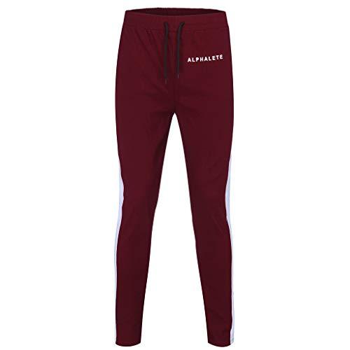 Proban Suit - YOcheerful Mens Slim Fit Pants, Men Jogger Pants Leisure Tight Trousers Black Sports Pants Travel Pants Hiking Pants