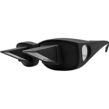 484d329c4a1f Evelots Prism Bed Glasses-Read Watch TV-Horizontal-Unisex-Use Over Your  Glasses
