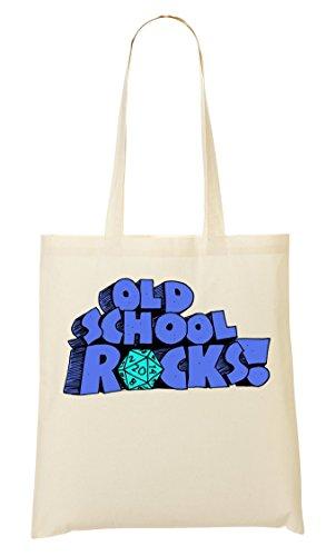 True Story | Old School Rocks | Phrases Collection | Cool T Shirt | Nice To | Super | Osom Words | Popular Quotes | Yolo Swag Bolso De Mano Bolsa De La Compra