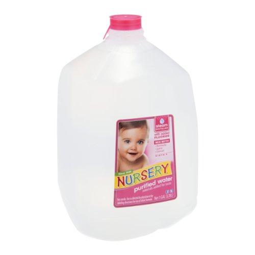 Nursery BCA01541 NuRosery Purified Water, 6 x 128 oz