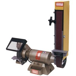 KALAMAZOO - #2SK7 2 X 48 SANDER / GRINDER 7 WHEEL (Combination Bench Grinder)