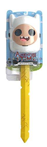 Adventure Time Finn Mask with Golden Sword of (Finn Adventure Time Halloween Costume)