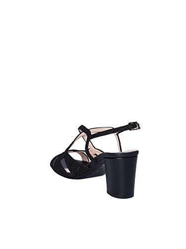 Hauts Noir Sandales Shoes Talons Femmes À 3054 Grace TnqF81OZx