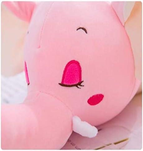 Pluchen speelgoed Creative Doll Cute Elephant Pillow Sleep Pillow Bedside Kussen Home Decoration Verjaardagscadeau,Blue,55cm