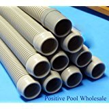 "Hayward Navigator, Pool Vac, Ultra 48"" Gray Hose 10 Pack W/ Leader"