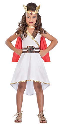 (Girls Teens Goddess Princess Roman Greek Superhero World Book Day Week Fancy Dress Costume Outfit 5-14 Years (8-10)