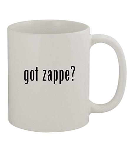 got zappe? - 11oz Sturdy Ceramic Coffee Cup Mug, White -