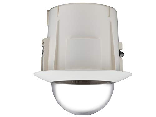 Samsung SHP-3701F Flush Mount PTZ CCTV Camera Indoor Housing - Ivory SCP - Indoor Mount Housing Flush