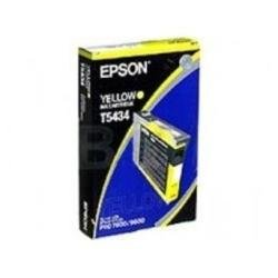 Epson T543400 Yellow 110ml UltraChrome Ink Cartridge for Pro 4000, 7600 and 9600