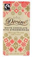 (Divine Chocolate White Chocolate with Strawberries -- 3.5)