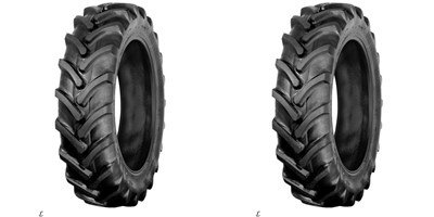 TWO 7-16 7X16 GALAXY TRACTION II R-1 AG LUG 6-ply Rated-Tubeless Tractor Tires