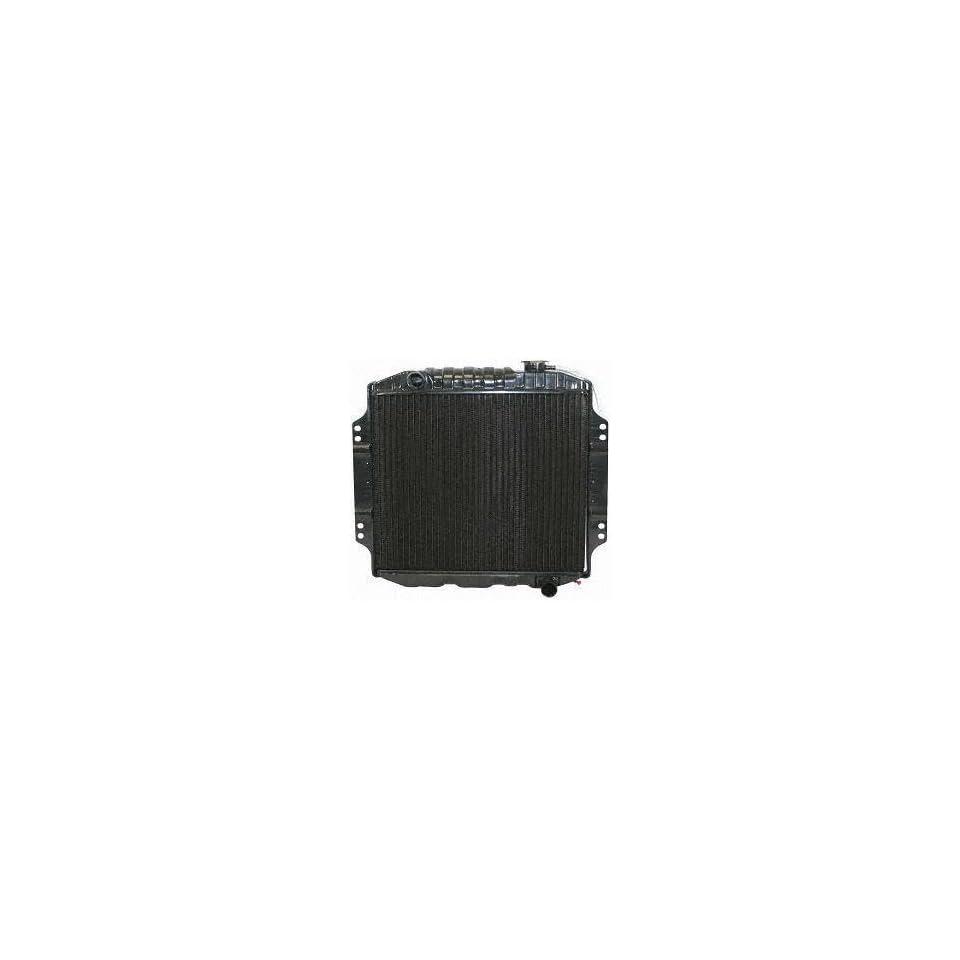 73 75 CHEVY CHEVROLET LUV PICKUP RADIATOR TRUCK, 4cyl; 1.8L; 111c.i. (1973 73 1974 74 1975 75) P642 94023194