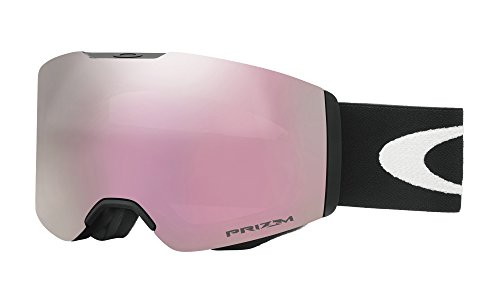 Oakley Fall Line Snow Goggles, Matte Black Frame, Prizm High Intensity Pink Iridium Lens, - Pink Oakley Goggles