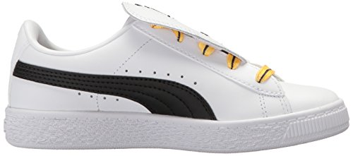 Pictures of PUMA Baby Basket Tongue Kids Sneaker White 36515201 3