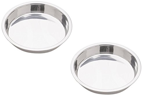 (Norpro 9-Inch Stainless Steel Cake Pan, Round)