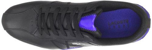 Lacoste Ekani L Cln Fashion Sneaker Black / Dark Blue Para Mujer