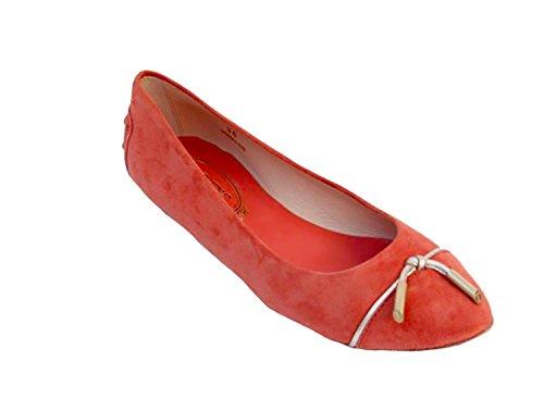 Tods Dames Ballerina Xxw0nb0b780ga1199c Rood