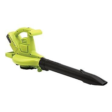 Sun Joe iON Brushless 40-Volt 4.0 Ah Cordless 3-in-1 Blower, Vacuum, & Mulcher (IONBV)